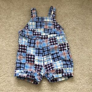 🧸6-9 month children's place overalls